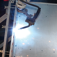 Precision Sheet Metal Robotic Welding   | Versatility Tool Works