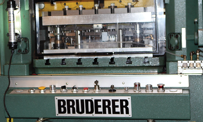 Bruderer High Speed Stamping  | Versatility Tool Works